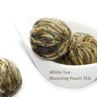 7 Blooming White Peach Tea