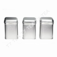 Tea Tins Square Small - Set of 3