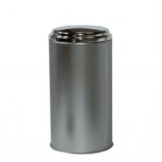 8 oz Silver Top Tea Tin
