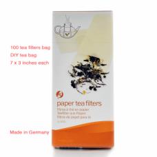Tea Paper Filters (100 filters)