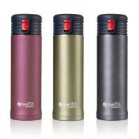 toasTEA travel mug and infuser (blush)