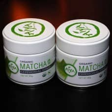 Aiya Organic Ceremonial Matcha 30 Grams, 2 Pack